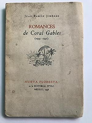 Romances de Coral Gables (1939 - 1942): Juan Ramon Jimenez