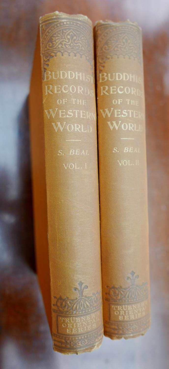 Si-Yu-Ki, Buddhist Records of the Western World: Translated From The Chinese of Hiuen Tsiang (A.D. 629) Beal, Samuel