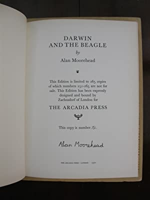 Darwin and the Beagle. [Limited and Signed Arcadia Press Edition Designed and Bound by Zaehnsdorf ...