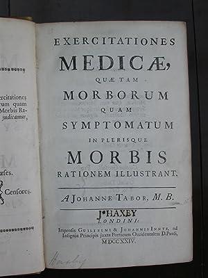 Exercitationes Medicae, Quae Tam Morborum Quam Symptomatum In Plerisque Morbis Rationem Illustrant....