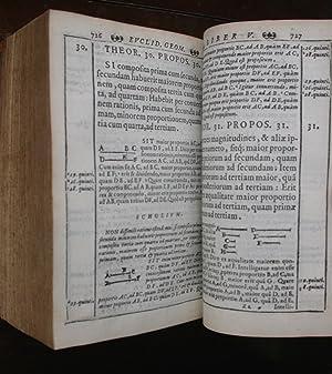 Euclidis elementorum lib. XV : accessit XVI De solidoru[m] regularium cuiuslibet intra quodlibet ...