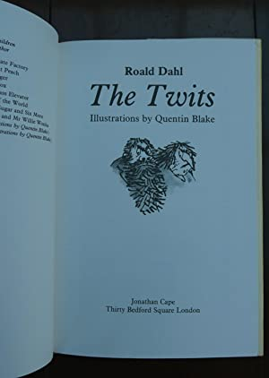 The Twits. [Signed by the Author]: Dahl, Roald.