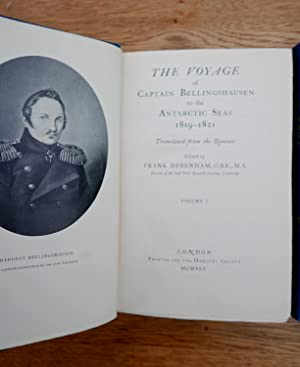The Voyage of Captain Bellingshausen to the Antarctic Seas 1819-1821.: Debenham, Frank, Edited. ...