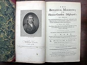 The Botanical Magazine; or Flower-Garden Displayed: Three: Curtis, William.