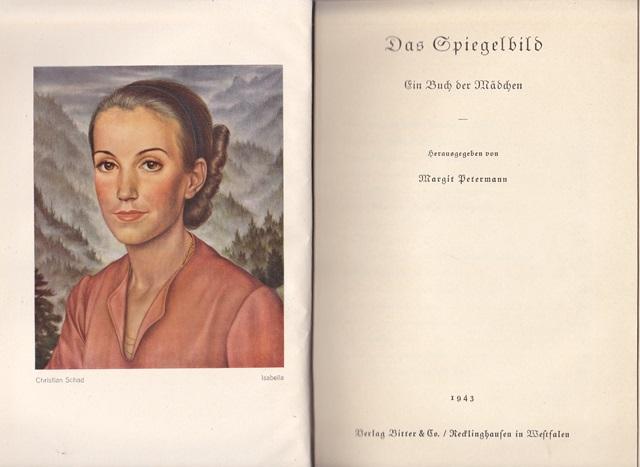 Das Spiegelbild Ein Buch Der Mädchen Von Hrsg Petermann Margit