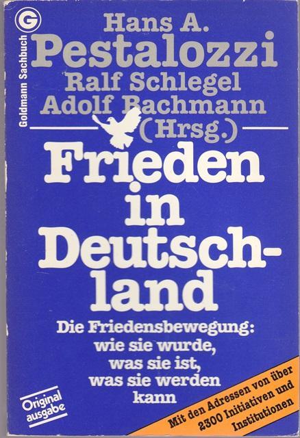 Frieden in Deutschland von A - ZVAB