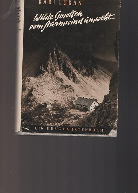 Wilde Gesellen vom Sturmwind umweht. Ein Bergfahrtenbuch.