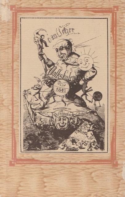 Komischer Volkskalender 1847.: Brennglas, Adolf (Hrsg.):