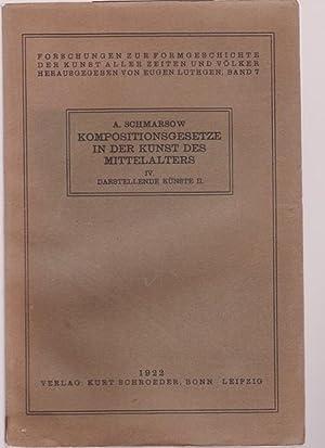 Kompositionsgesetze in der Kunst des Mittelalters. Forschung: Schmarsow, August:
