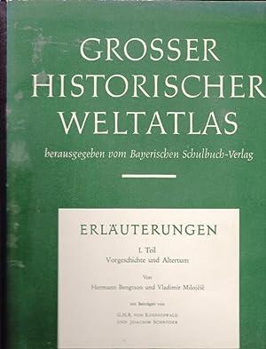 Grosser historischer Weltatlas hrsg. von Basyerischen Schulbuch: Dr .Bengtson, Hermann