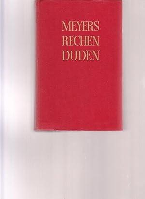 Meyers Rechenduden. Meyers Großer Rechenduden. Anleitungen und: Fachredaktion des Bibliographischen
