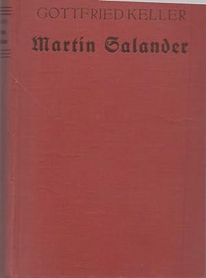 Martin Galander.: Keller, Gottfried: