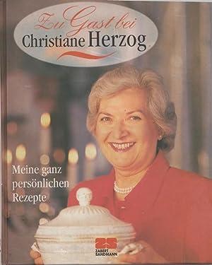 Zu Gast bei Christiane Herzog. Meine ganz: Alvensleben, Christian von