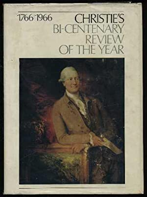 Christie's Bi-Centenary Review of the Year October 1965-July 1966