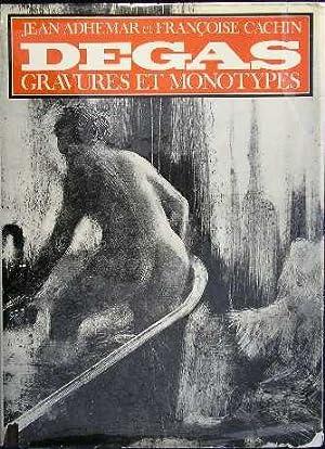 Edgar Degas; Gravures Et Monotypes: Adhemar, Jean; Degas,