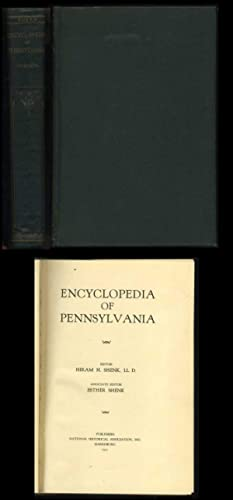 Encyclopedia of Pennsylvania: Shenk, Hiram H. (editor)