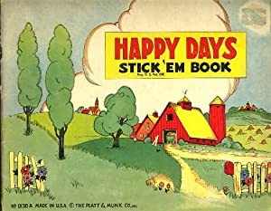 Happy Days Sticke 'Em Book: Anonymous