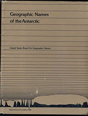 Geographic Names of the Antarctic: Alberts, Fred G.