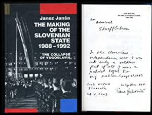 The Making of the Slovenian State 1988-1992: The Collapse of Yugoslavia: Jansa, Janez