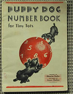 Puppy Dog Number Book for Tiny Tots: Butler, Blanche