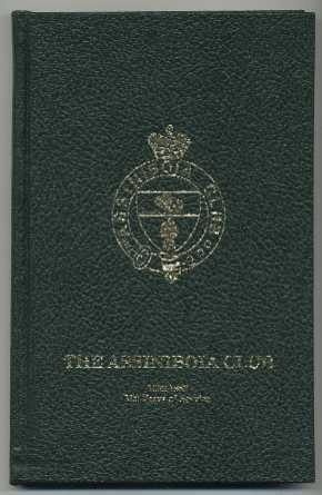 The Assiniboia Club - 1882-1982: Sherick, Dorothy