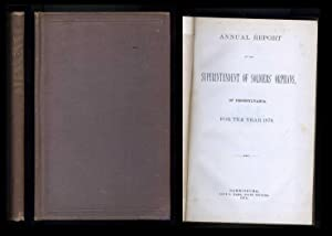 Annual Report of the Superintendent of Soldiers' Orphans, of Pennsylvania, For the Year 1879: ...
