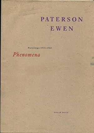 Paterson Ewen: Phenomena Paintings, 1971-1987: Monk, Philip