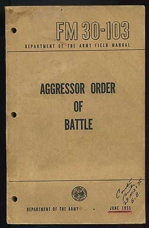 Aggressor Order of Battle (FM 30-103): Army Staff