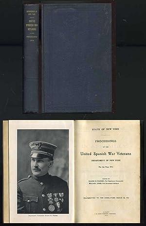 of the United Spanish War Veterans: Parker, Ralph H.; Jones, William (editors)
