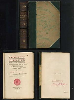 A History of Wilkes-Barre, Luzerne County, Pennsylvania: Harvey, Oscar Jewell