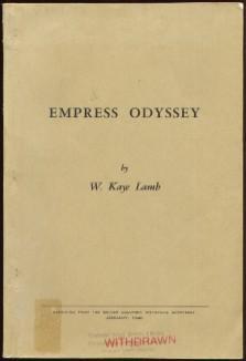 Empress Odyssey: Lamb, W. Kaye