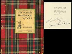 The Duffer's Handbook of Golf: Rice, Grantland; Briggs, Clare