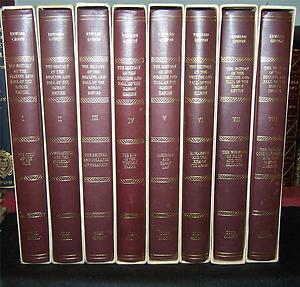 The History of the Decline and Fall of the Roman Empire (8 volume set): Gibbon, John Murray