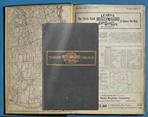 The Green Book: Leahy's Hotel Guide and Railway Distance Maps of America: Leahy's Staff
