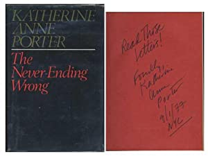 The Never-Ending Wrong: Porter, Katherine Anne