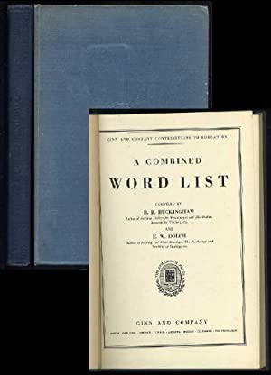 A Combined Word List: Buckingham, B.R.; Dolch, E.W. (compilers)