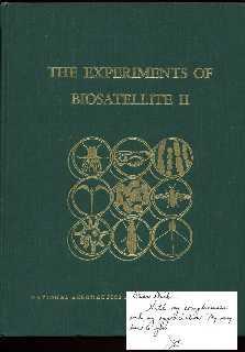 The Experiments of Biosatellite II: Saunders, Joseph F.