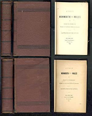 History of Monmouth and Wales (2 Volume Set): Cochrane, Harry H.