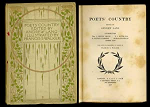Poet's Country: Andrew, Lang (editor)
