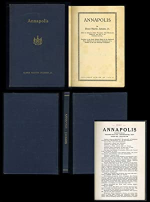 Annapolis (with Annapolis Statistical Review book): Jackson, Elmer Martin