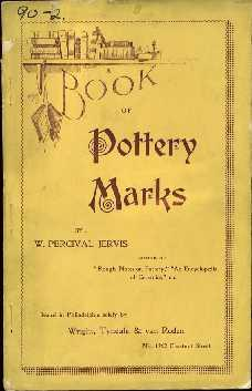 A Book of Pottery Marks: Jervis, W. Percival