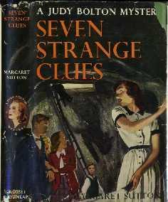 The Seven Strange Clues: Sutton, Margaret, Illustrated by Pelagie Goane