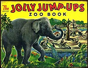The Jolly Jump-Ups Zoo Book: Clyne, Geraldine