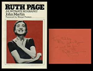 Ruth Page: An Intimate Biography: Martin, John