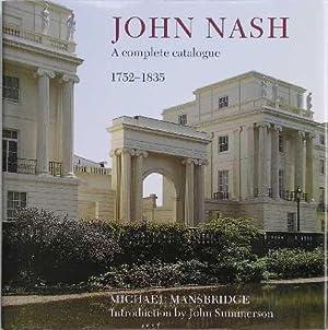 John Nash : A Complete Catalogue: Mansbridge, Michael