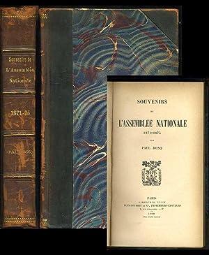Souvenirs de L'Assemblee Nationale 1871-1875: Bosq, Paul