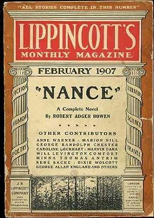 Nance (Lippincott's Monthly Magazine 470): Bowen, Robert Adger