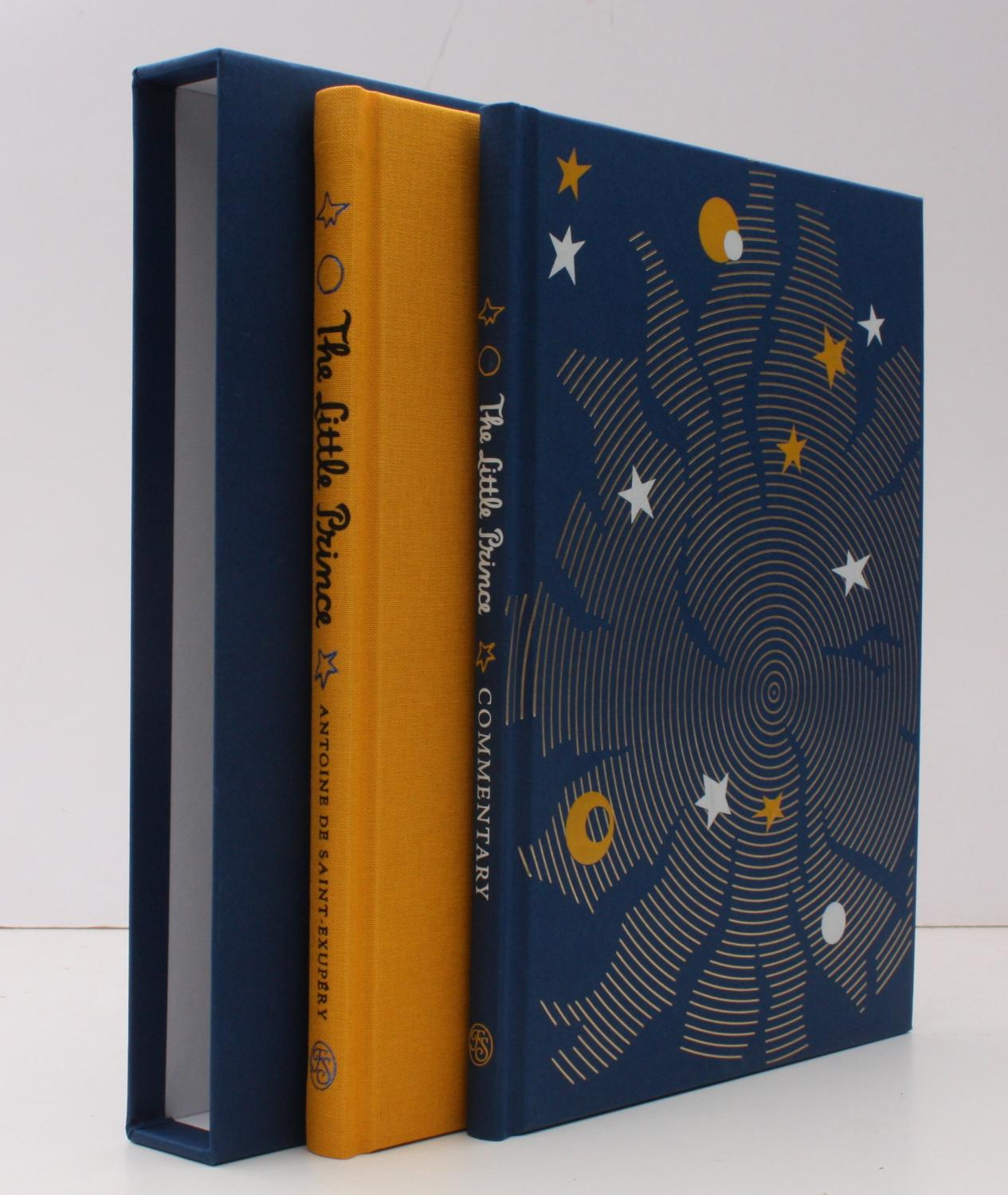 The Little Prince Introduced By Stacy Schiff Translated By Richard Howard Commentary Volume By Christine Nelson Original Illustrations By The Author Fine Copy In Publisher S Blocked Slip Case By Antoine De Saint Exupery 2017