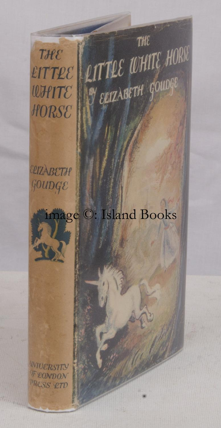 The Little White Horse Illustrated By C Walter Hodges Bright Clean Copy In Dustwrapper De Elizabeth Goudge 1946 Island Books