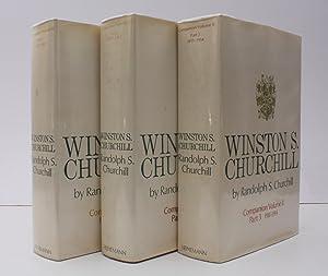 Winston S. Churchill. Volume II Companion Parts: Randolph S. CHURCHILL